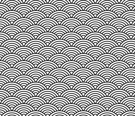 Scale pattern png. Fish fabric milalala spoonflower