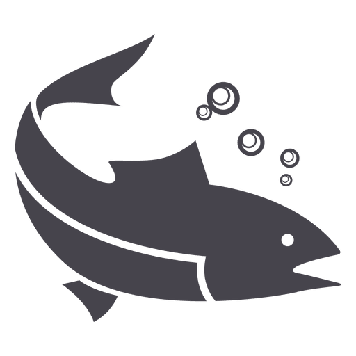 Fish silhouette png. Fishing animal transparent svg