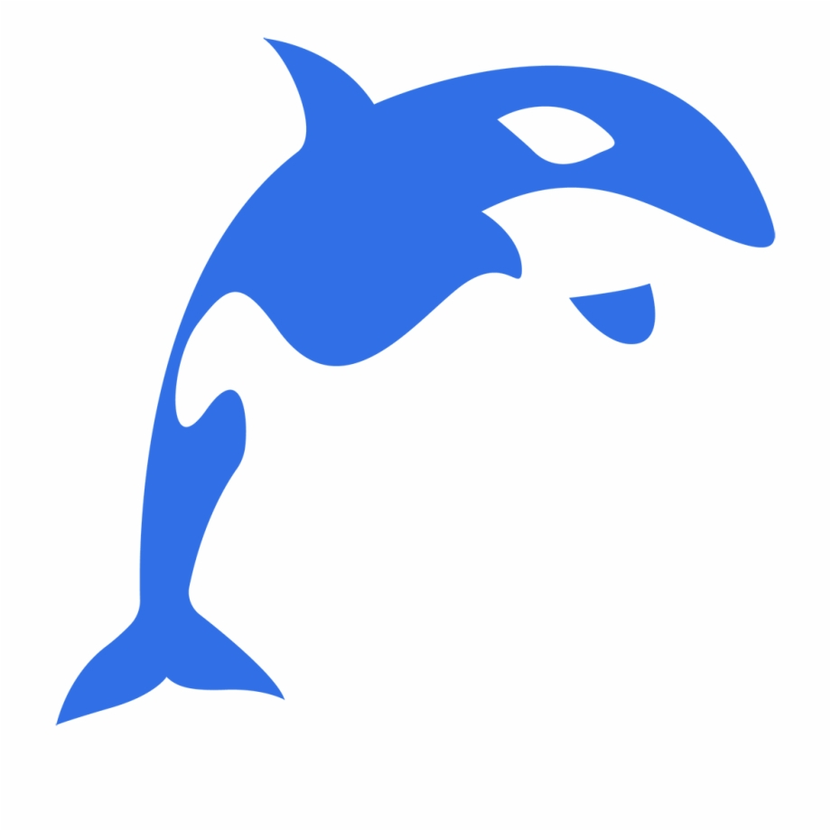 Fish tail. Orca clipart transparent png