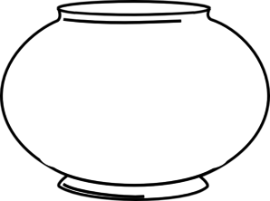 Blank clip art at. Fishbowl clipart graphic freeuse library