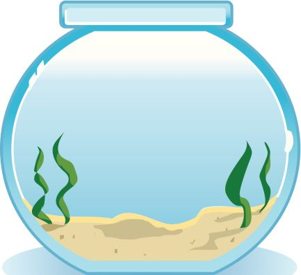 The top best blogs. Fishbowl clipart banner stock