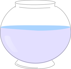 empty fish bowl png