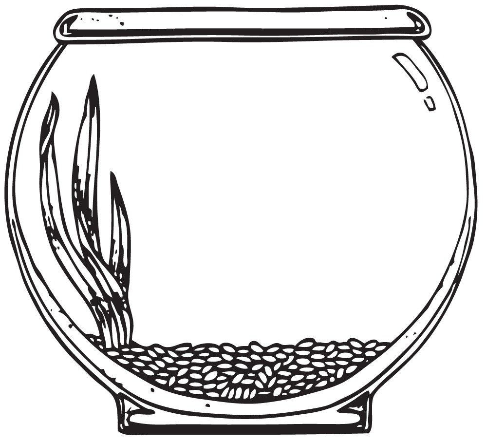 Use the form below. Fishbowl clipart pet fish banner free