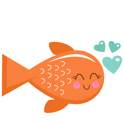 Valentine clipart fish. Free fishing baby cliparts