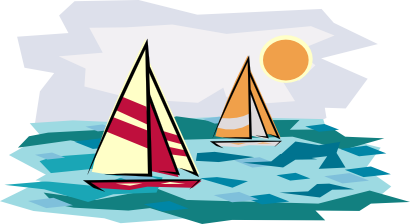 Sail clipart yatch. Fishing boat clip art