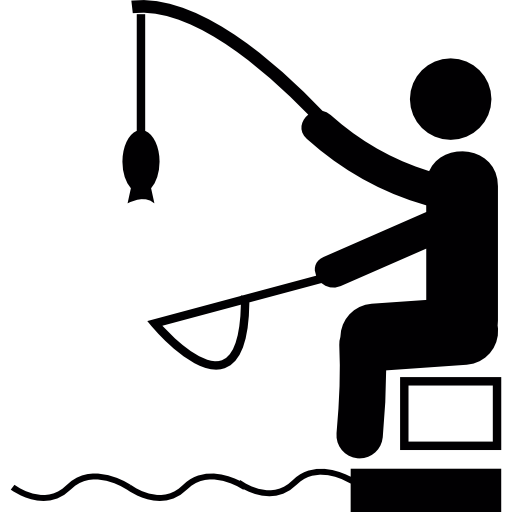 Fishing clip fisher. Icons free download demo