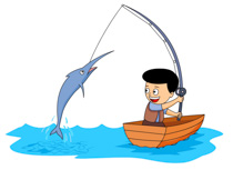 Fishing clipart caught fish. Search results for catch
