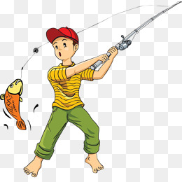 Fishing clipart caught fish. Catch png vectors psd