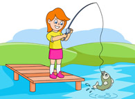Fishing clipart caught fish. Sports free to download