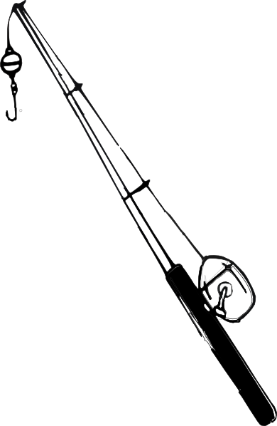 Fishing pole clipart png. Rod reel clip art
