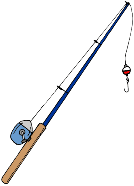 Fishing pole png. Transparent free images only