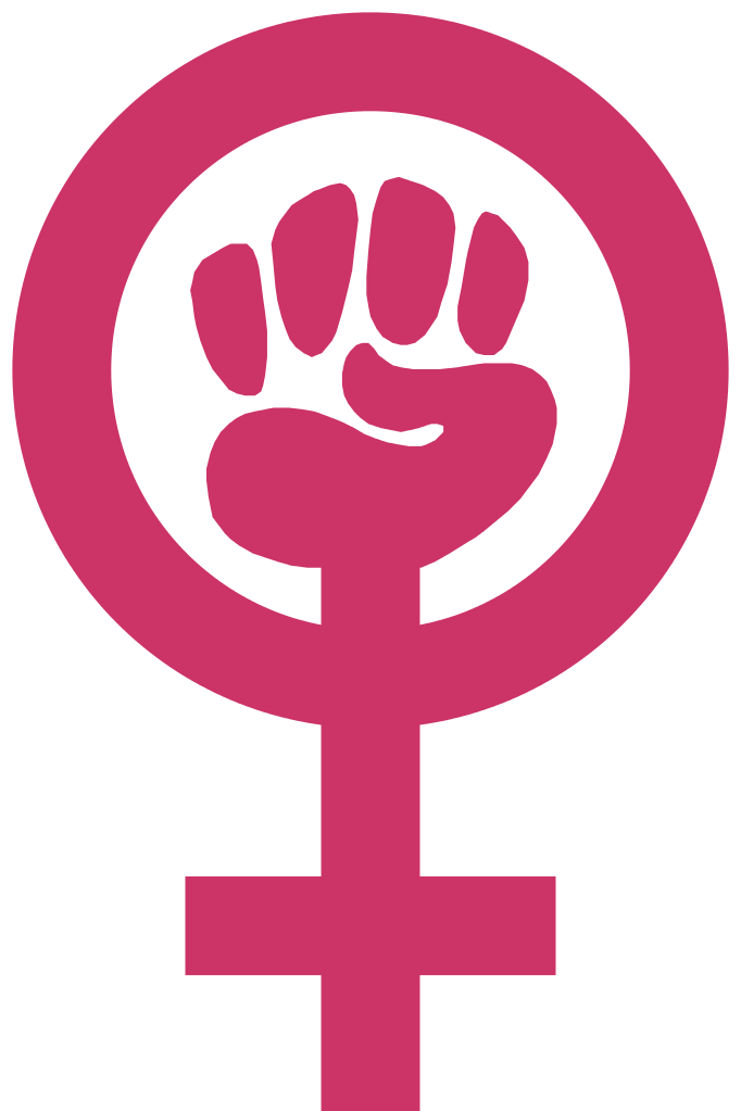 Fist clipart equality. File feminism symbol svg