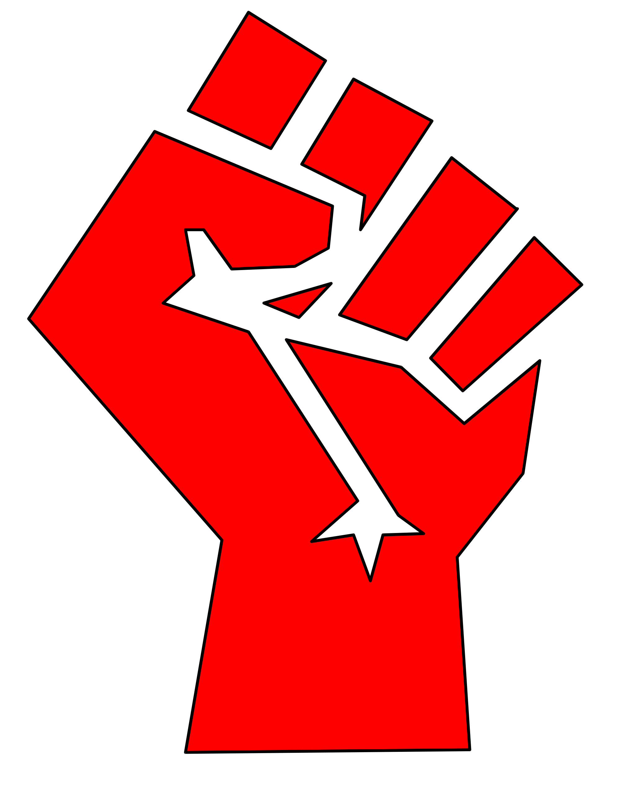 Fist clipart equality. Svg punch huge