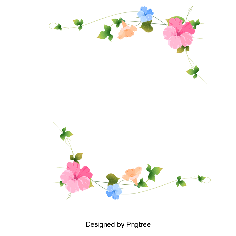 Fist clipart painted. Hand floral border flowers