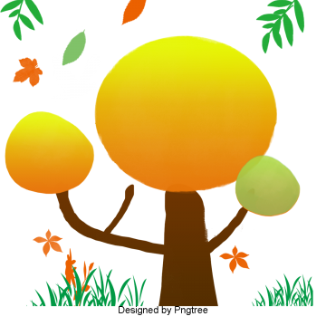 Fist clipart painted. Hand autumn tree png