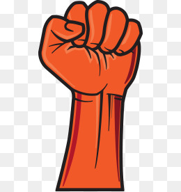 Fist clipart painted. Hand png images vectors