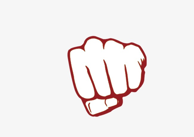 Fist clipart painted. Hand power png image
