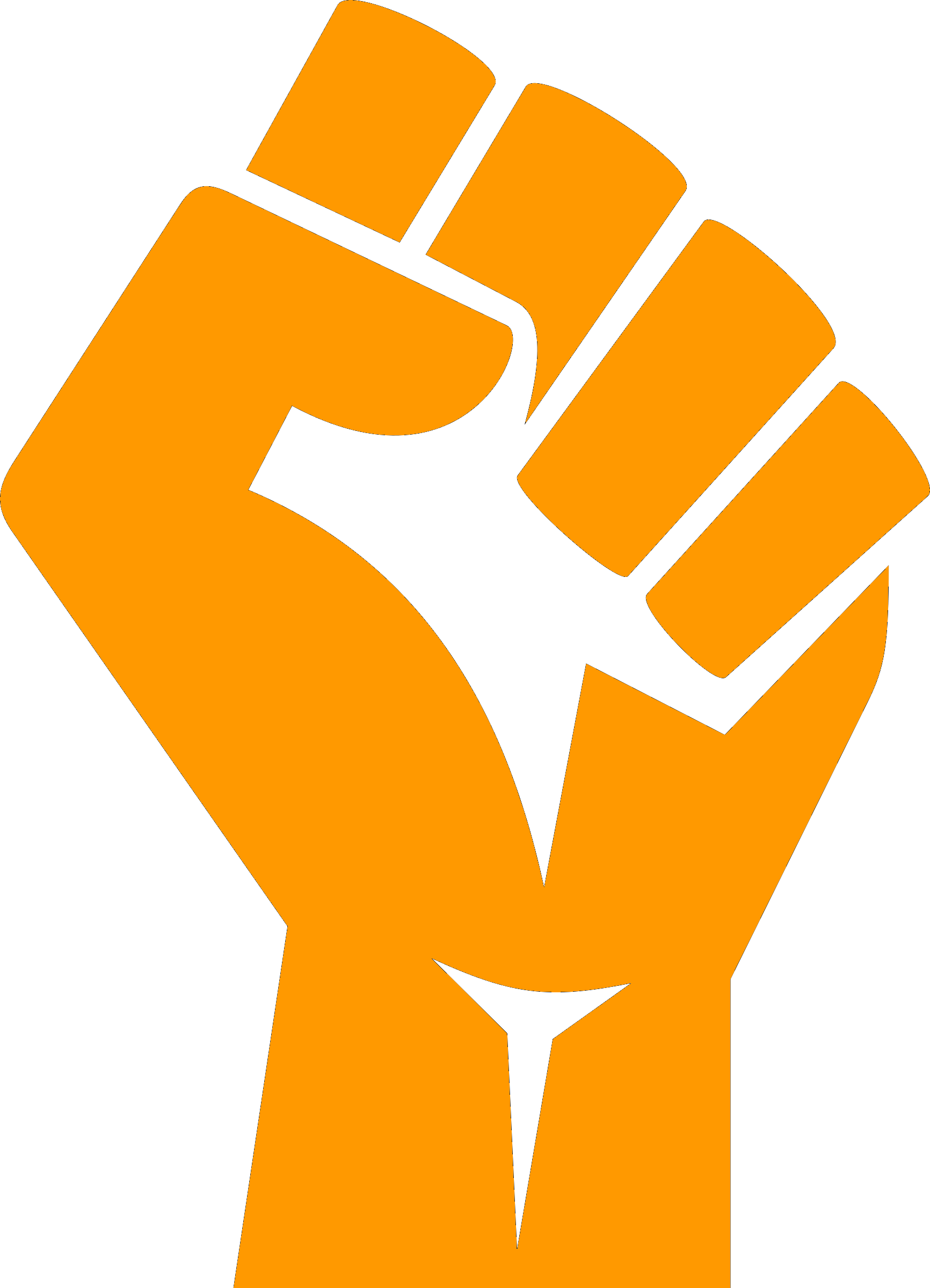 Fist png. File raised wikimedia commons