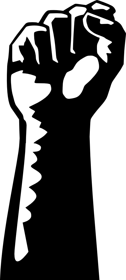 Black power fist png. Collection of clenched