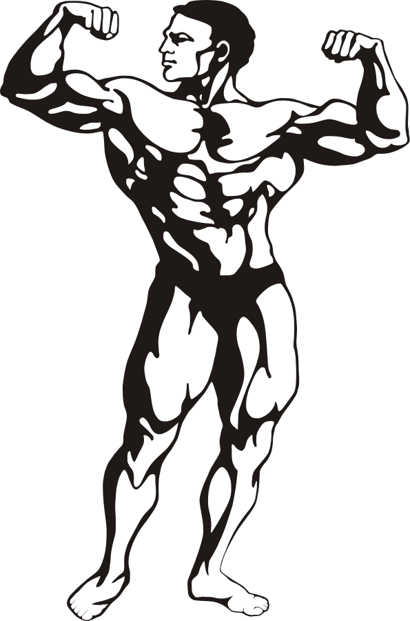 Gym clipart strong boy. Free fitness download clip