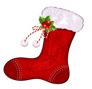 Stocking vector xmas. Merry christmas clipart