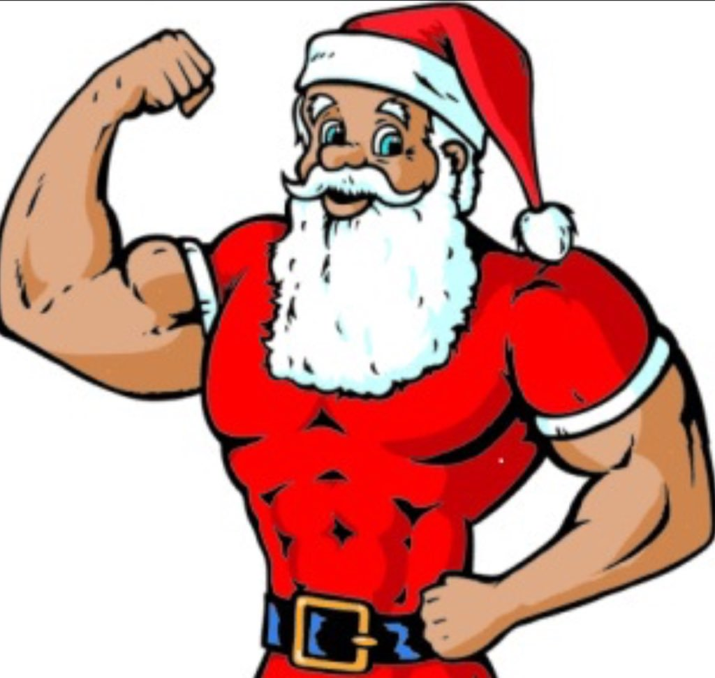 Fitness clipart christmas. Puregym mansf on twitter