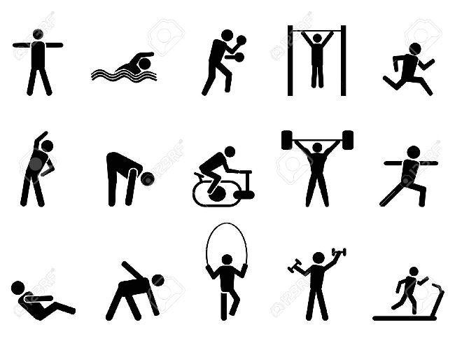 Pe clipart physical growth. Exercise education fitness methods