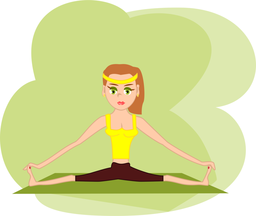 Yoga clipart aerobic. Physical fitness exercise centre