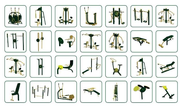 Fitness clipart outdoor fitness. Exercise equipment health trail