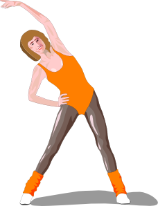 Fitness clipart svg. Exercise clip art at