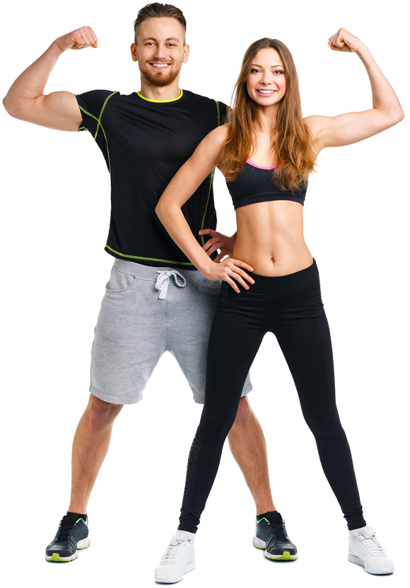 Fitness couple png. Holland south fit body