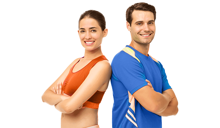 Fitness couple png. Homepage grit