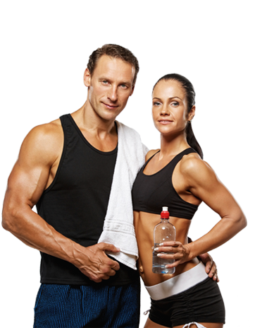 Fitness couple png. Best gym health club
