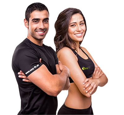 Fitness couple png. Fit easy service