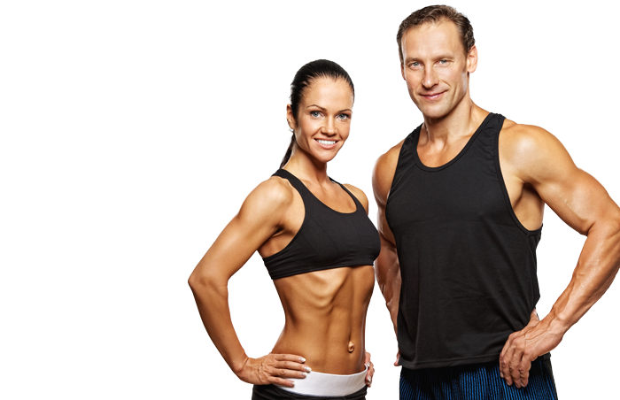 Fitness couple png. Kinetix inspired pinellas park