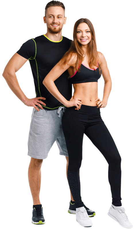 Fitness couple png. Brea ca center gym