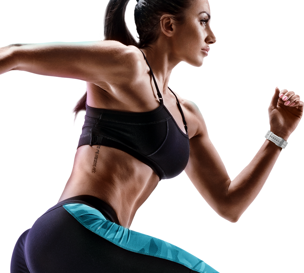 Fitness girl png. X link be smart