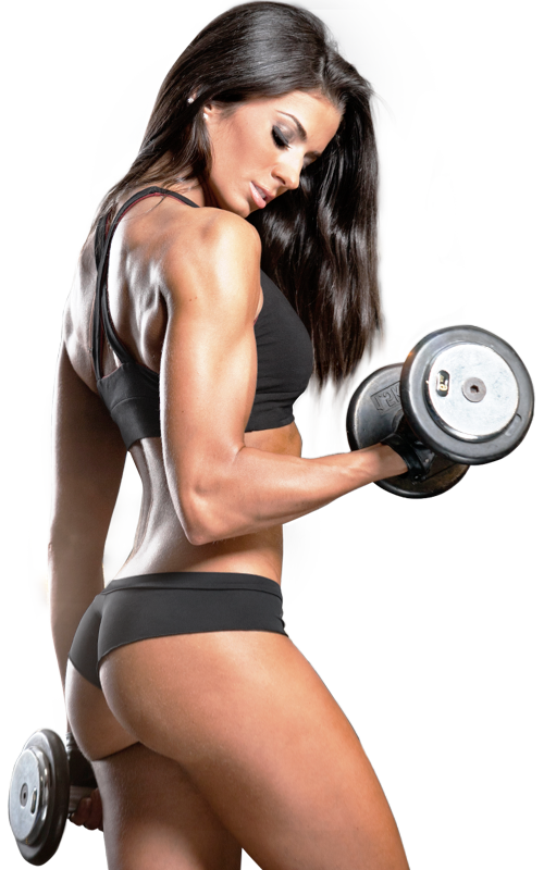Fitness girl png. Image