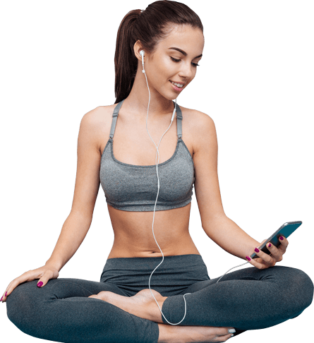 Fitness girl png. What do i need