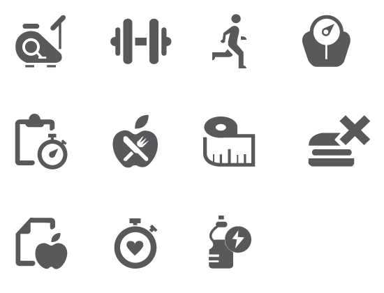 Fitness icons png. Download free and backgrounds