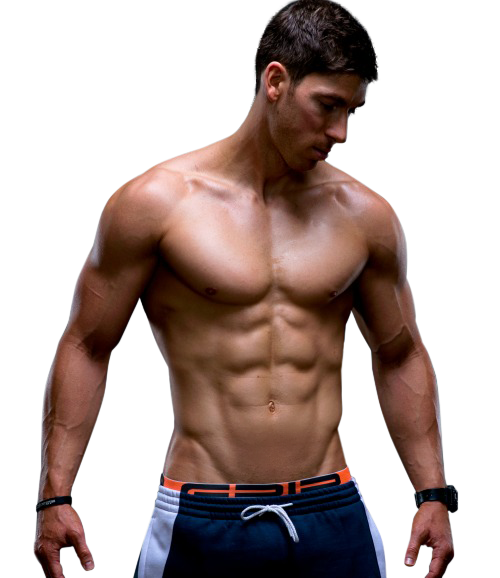 Fitness man png. The athletic aesthetic physique