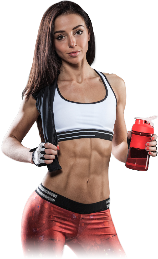Fitness model png.