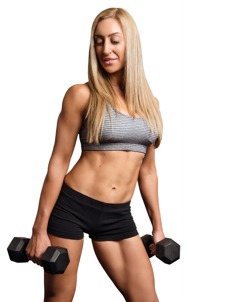 Fitness model png. Amelia ricci sports trainer