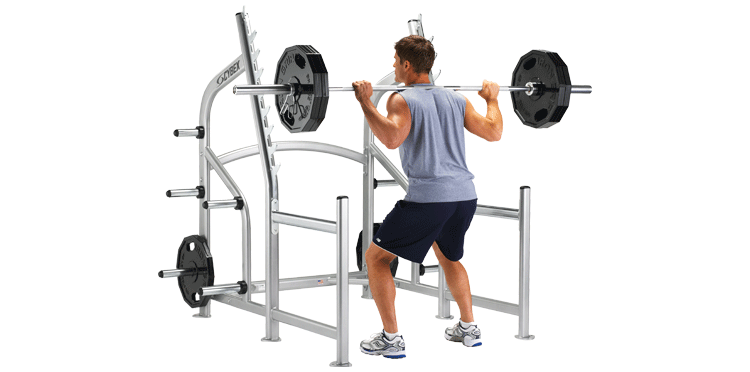 Fitness people png. Squat rack cybex free