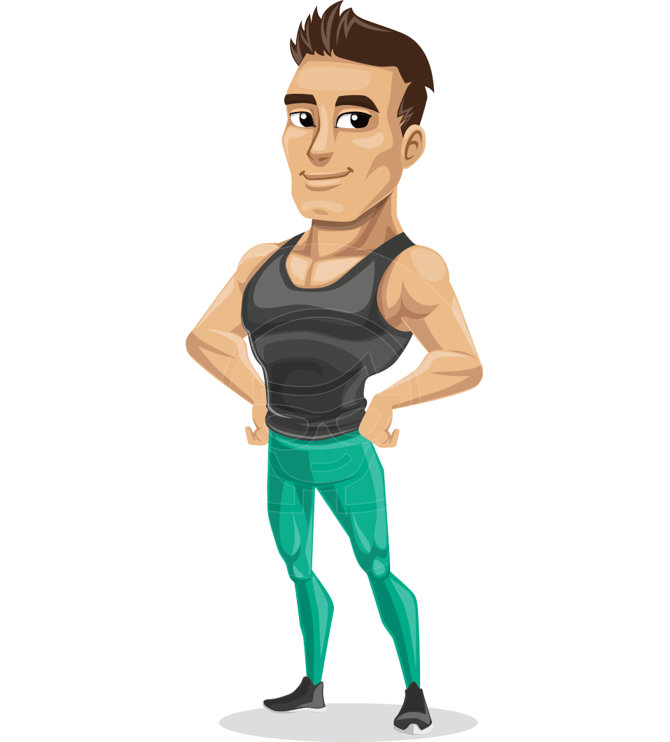 Model vector fitness. Jim is an athletic
