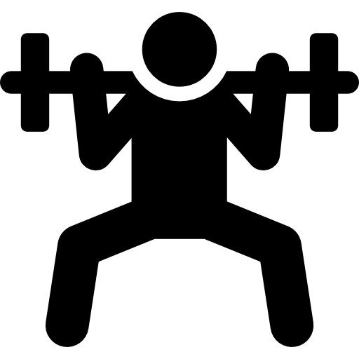 Fitness png icons. People black icon svg
