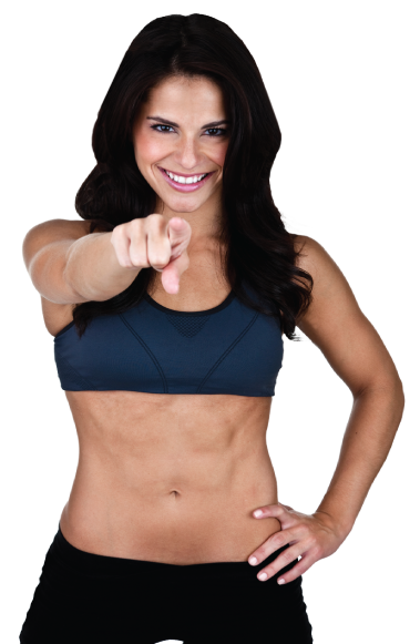 Fitness woman png. Ladies workout express minute