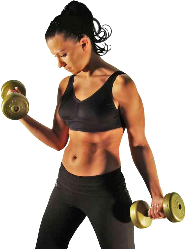 Fitness woman png. Gym transparent images all