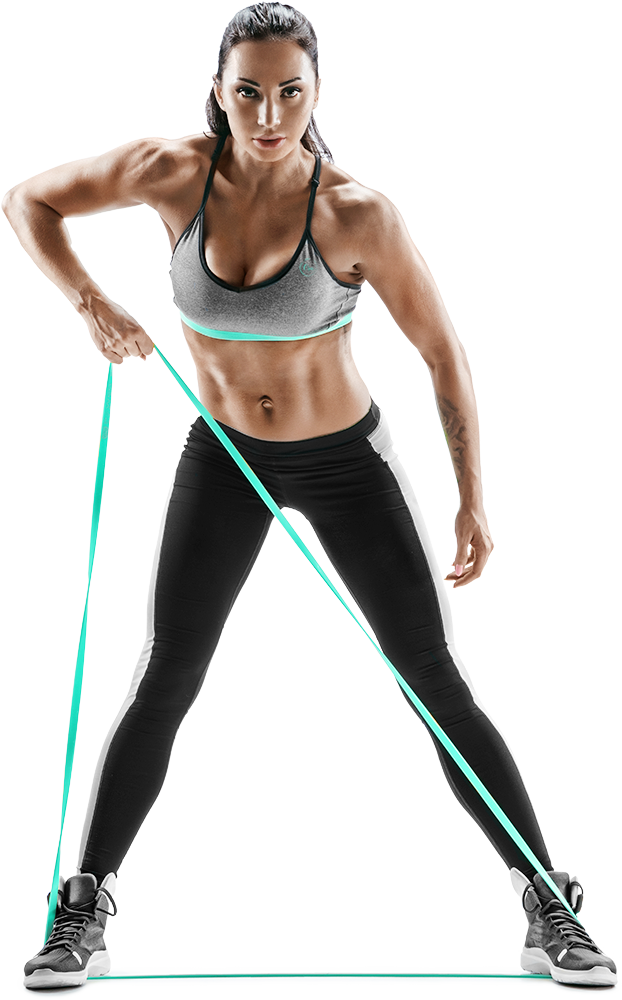 Fitness woman png. Training classes at ora