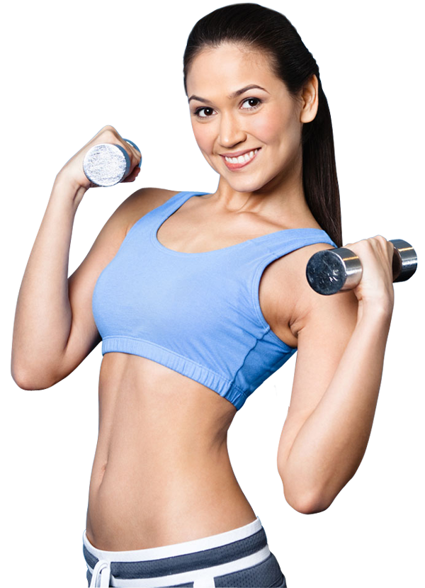 Fitness girl png